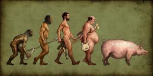 devolution homo sapiens